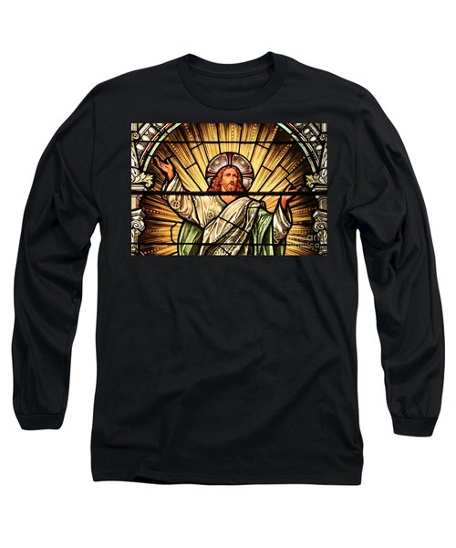 Jesus - The Light Of The Wold Long Sleeve T-Shirt