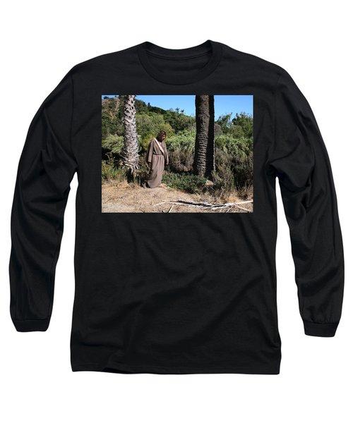 Jesus- Walk With Me Long Sleeve T-Shirt