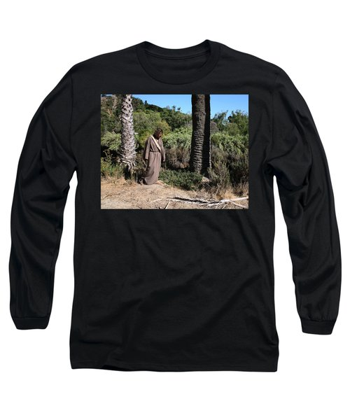 Jesus- Walk With Me Long Sleeve T-Shirt