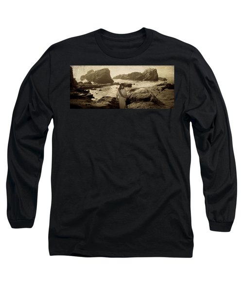 Jesus Walks Among Angels Long Sleeve T-Shirt