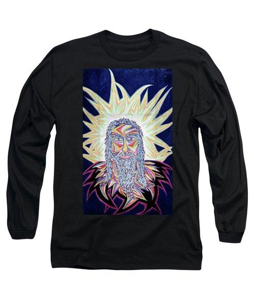 Jesus Year 2000 Long Sleeve T-Shirt by Robert SORENSEN