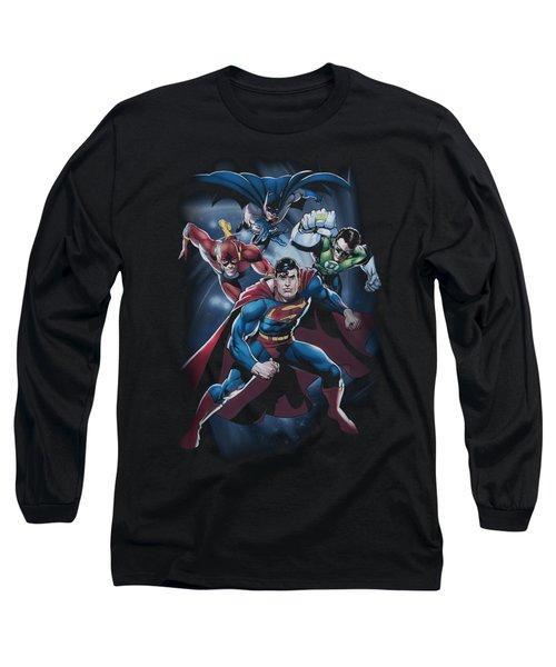 Jla - Cosmic Crew Long Sleeve T-Shirt