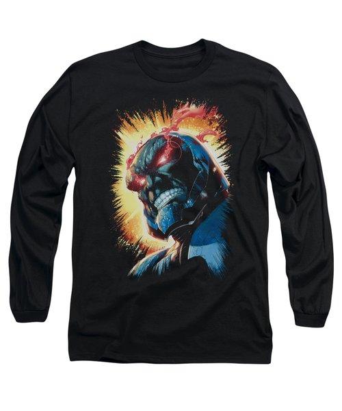 Jla - Darkseid Is Long Sleeve T-Shirt