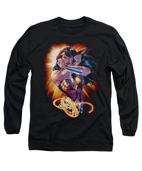 Jla - Wonder Rays Long Sleeve T-Shirt