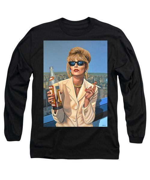 Joanna Lumley As Patsy Stone Long Sleeve T-Shirt