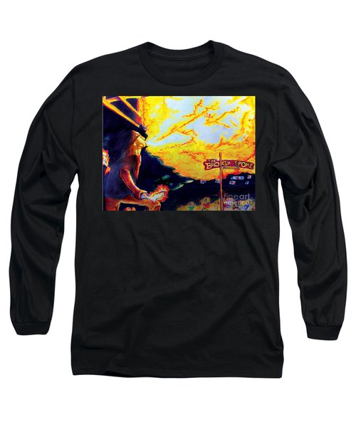 Joe At The Broken Spoke Saloon Long Sleeve T-Shirt