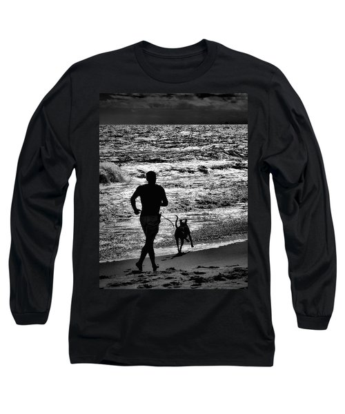 Joggin Wit Dad Long Sleeve T-Shirt