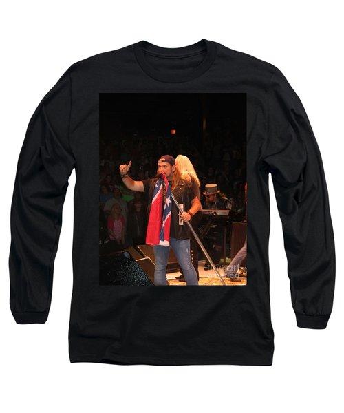 Johnny Van Zant Of Lynyrd Skynyrd Long Sleeve T-Shirt