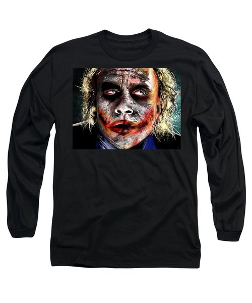 Joker Painting Long Sleeve T-Shirt