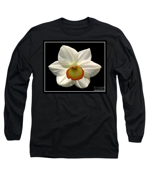 Long Sleeve T-Shirt featuring the photograph Jonquil 1 by Rose Santuci-Sofranko