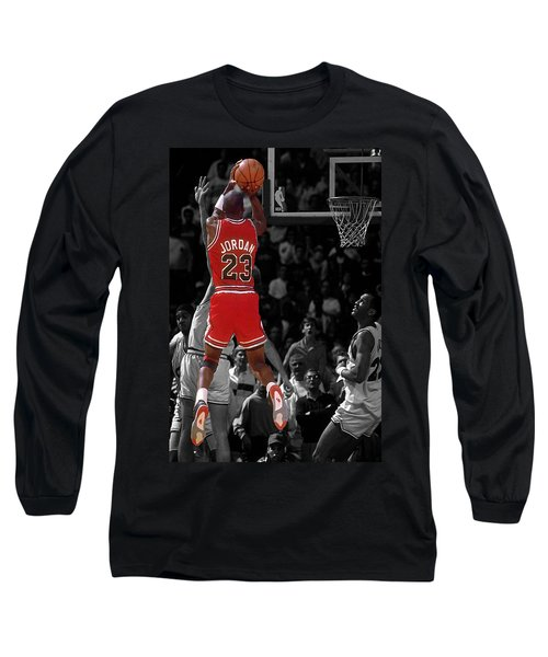 Jordan Buzzer Beater Long Sleeve T-Shirt by Brian Reaves