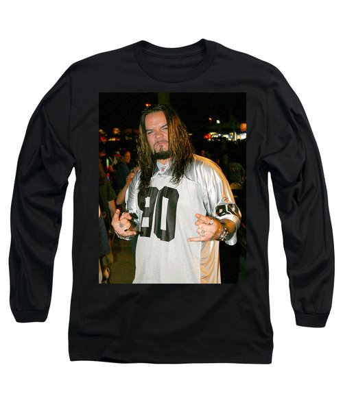 Long Sleeve T-Shirt featuring the photograph Josey Scott by Don Olea