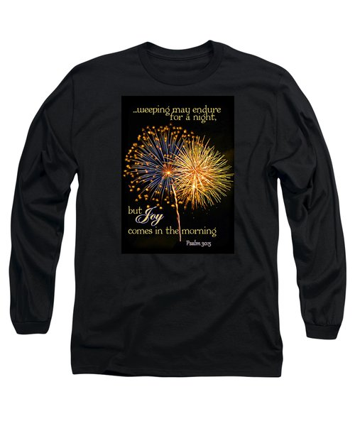 Long Sleeve T-Shirt featuring the photograph Joy In The Morning by Larry Bishop