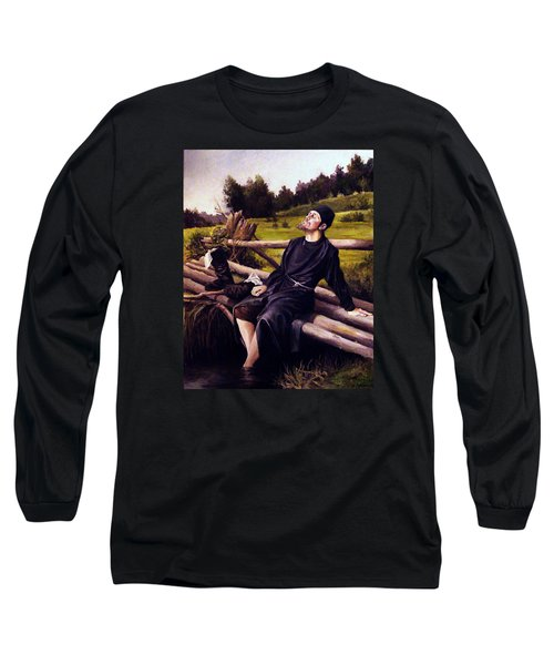 Joy Of Life Long Sleeve T-Shirt by Mikhail Savchenko