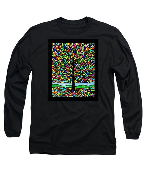 Joyce Kilmer's Tree Long Sleeve T-Shirt by Jim Harris