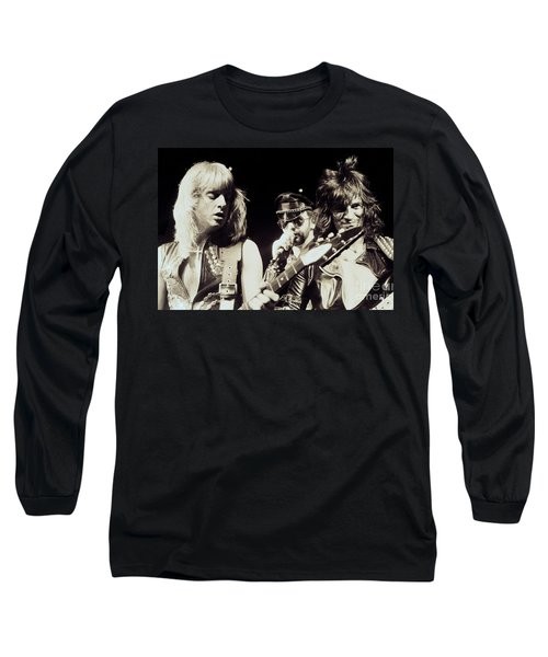 Judas Priest At The Warfield Theater During British Steel Tour - Unreleased And Never Seen  Long Sleeve T-Shirt