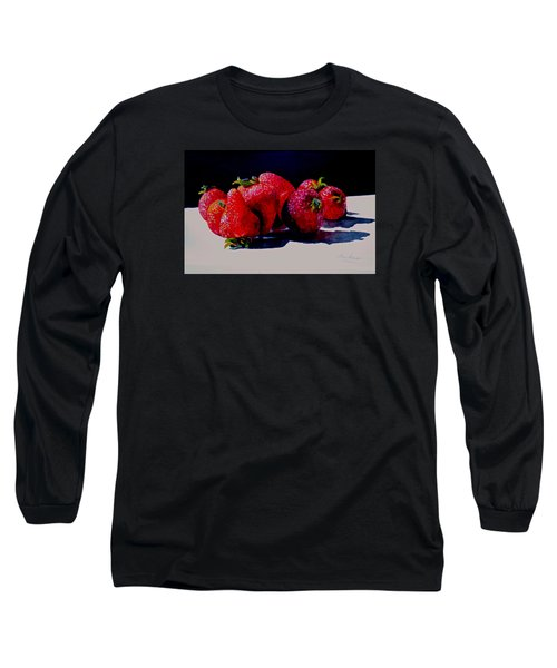 Juicy Strawberries Long Sleeve T-Shirt