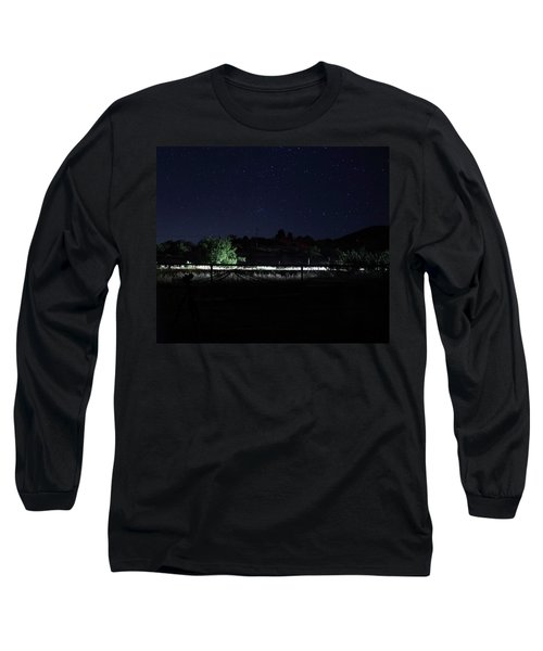 Julian Night Sky Long Sleeve T-Shirt