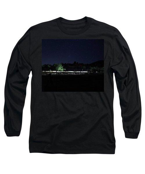 Julian Night Sky Long Sleeve T-Shirt