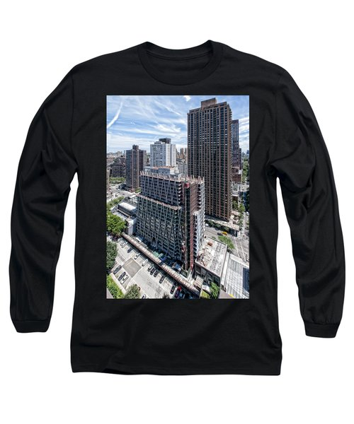 Jun2014rearabovesw Long Sleeve T-Shirt by Steve Sahm