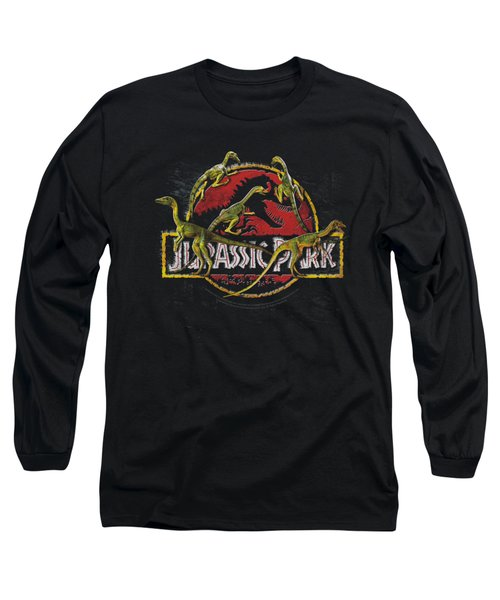 Jurassic Park - Something Has Survived Long Sleeve T-Shirt