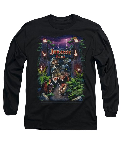 Jurassic Park - Welcome To The Park Long Sleeve T-Shirt