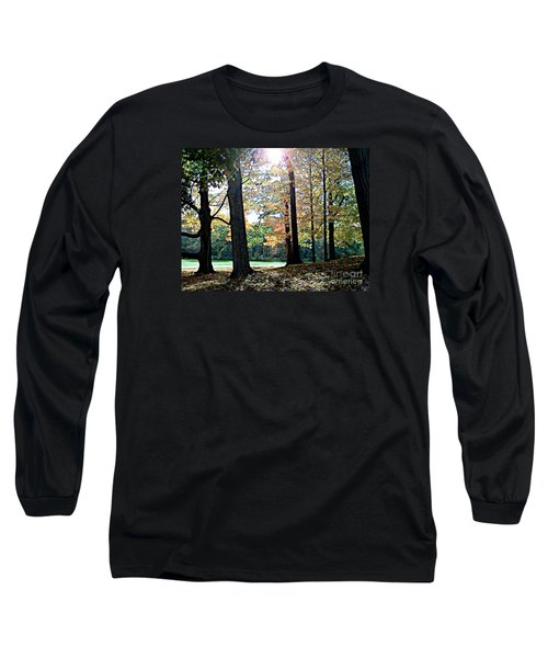 Just A Glimpse Of Sunlight Long Sleeve T-Shirt by Rita Brown