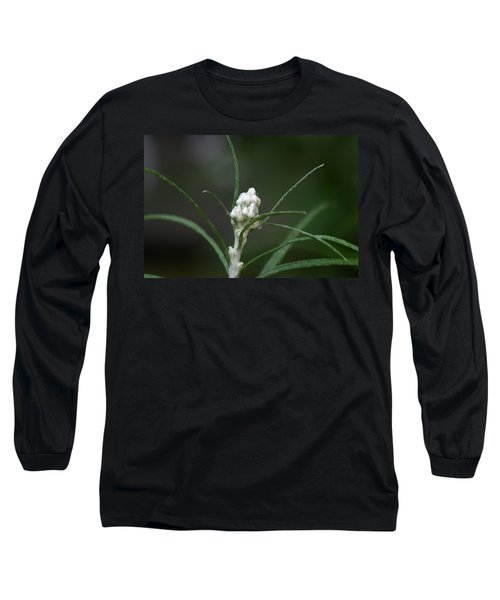 Long Sleeve T-Shirt featuring the photograph Just Budding by Denyse Duhaime