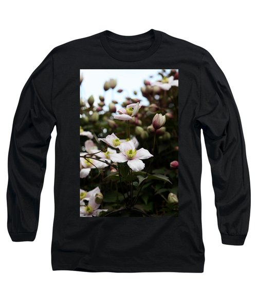 Just Flowers Long Sleeve T-Shirt