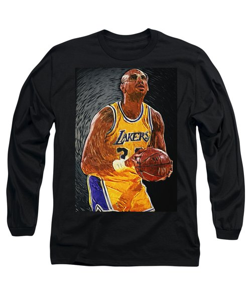 Kareem Abdul-jabbar Long Sleeve T-Shirt