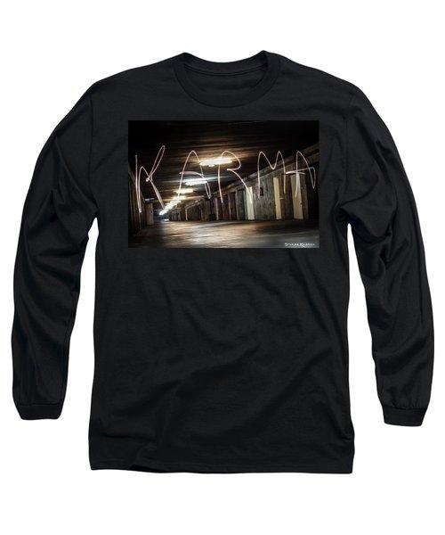 Karma Light Painting Long Sleeve T-Shirt