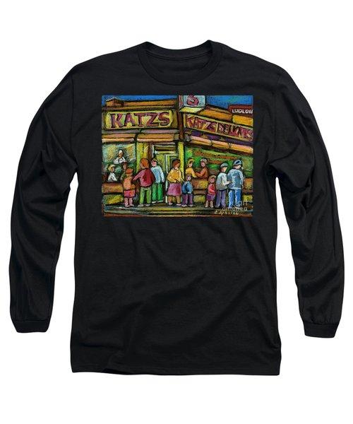 Katz's Deli Long Sleeve T-Shirt