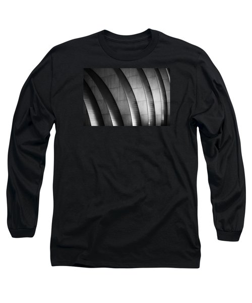 Kauffman Performing Arts Center Black And White Long Sleeve T-Shirt