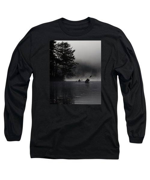 Kayaking In The Fog Long Sleeve T-Shirt