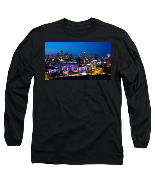 Kcmo Union Station Long Sleeve T-Shirt