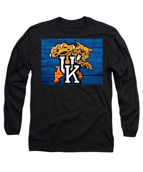 Kentucky Wildcats Barn Door Long Sleeve T-Shirt