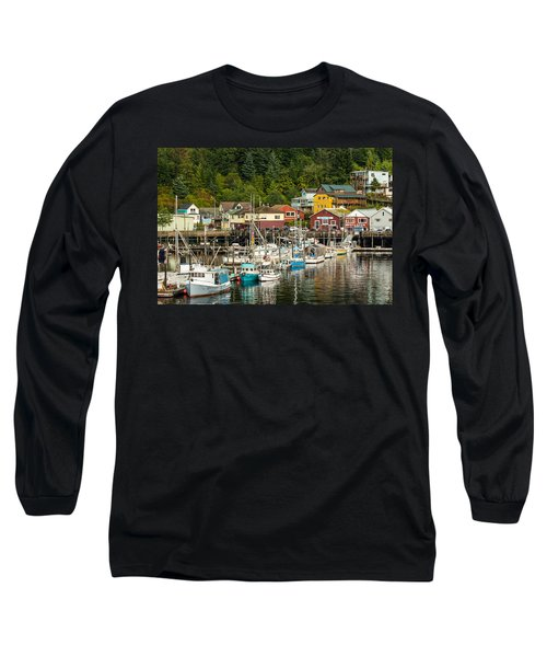Ketchikan Harbor Long Sleeve T-Shirt