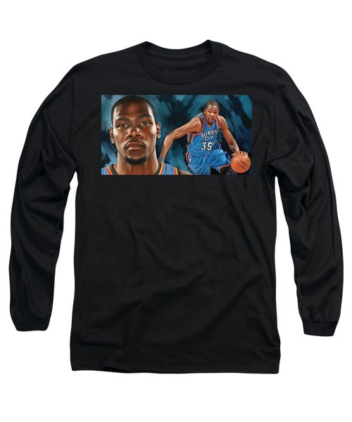 Kevin Durant Artwork Long Sleeve T-Shirt