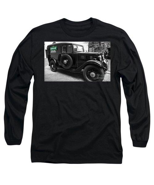Kilbeggan Distillery's Old Car Long Sleeve T-Shirt by RicardMN Photography