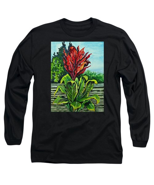 Kim Dracena Long Sleeve T-Shirt