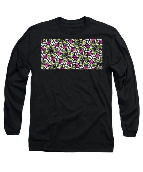 Long Sleeve T-Shirt featuring the digital art Kind Of Cali-lily by Elizabeth McTaggart