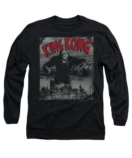 King Kong - City Poster Long Sleeve T-Shirt by Brand A
