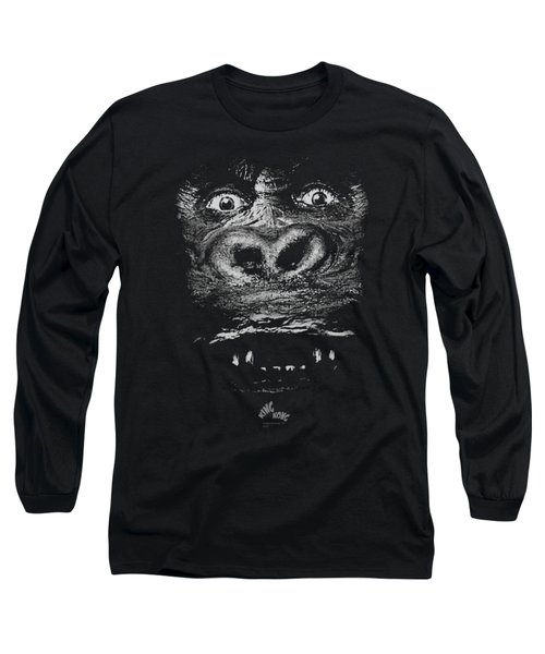 King Kong - Up Close Long Sleeve T-Shirt by Brand A