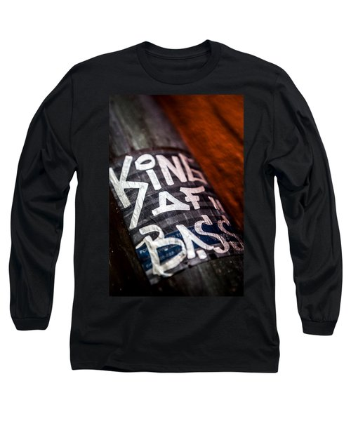 Long Sleeve T-Shirt featuring the photograph King Of Bass by Sennie Pierson