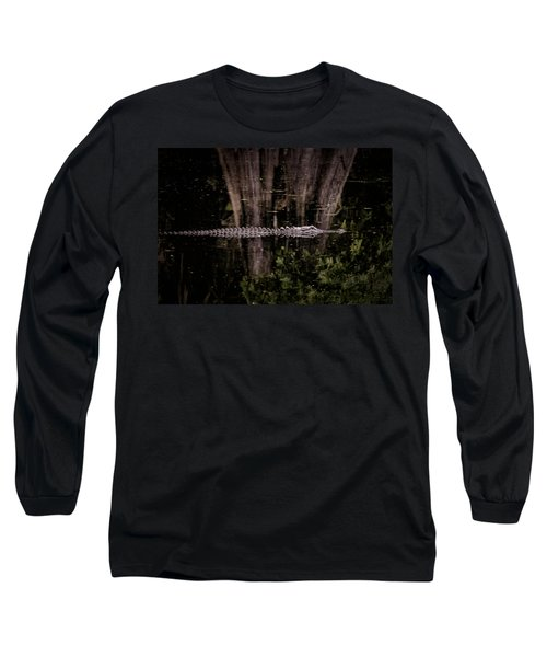 Long Sleeve T-Shirt featuring the photograph King Of The River by Steven Sparks