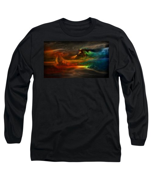 Kings Landing - Winter Is Coming Long Sleeve T-Shirt by Lilia D