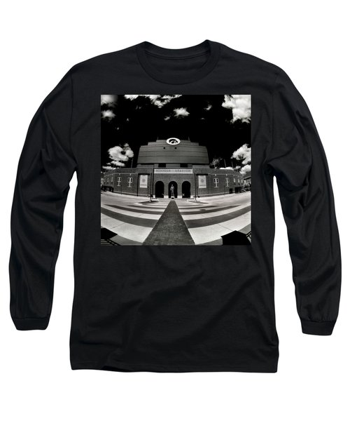 Kinnick Stadium Long Sleeve T-Shirt