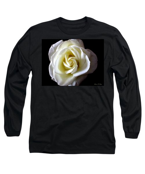 Long Sleeve T-Shirt featuring the photograph Kiss Of A Rose by Shana Rowe Jackson