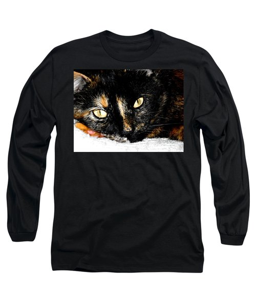 Kitty Face Long Sleeve T-Shirt