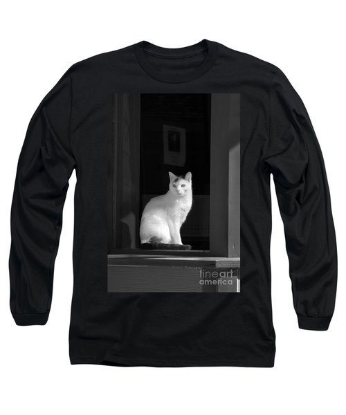Kitty In The Window Long Sleeve T-Shirt